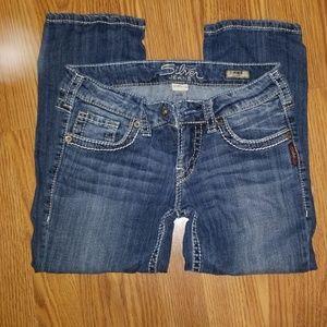 Silver Jeans Aiko Capri